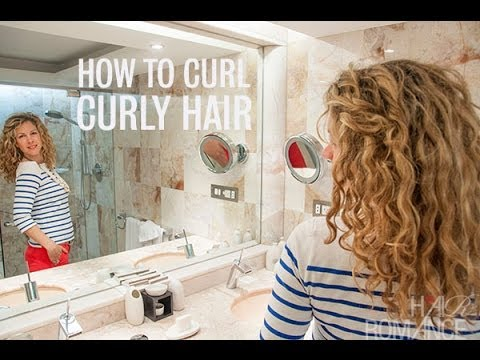 How To Re Style Curly Hair On The Second Day
