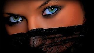 Beautiful Eyes in Veil