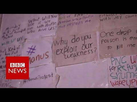 Manus Island: Inside Australia's refugee camp - BBC News