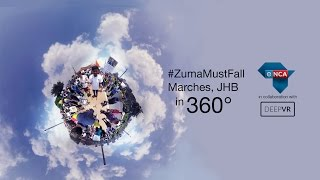 #zumamustfall 360 Video- Virtual Reality
