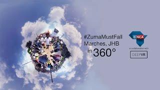 #zumamustfall 360 Video- Virtual Reality
