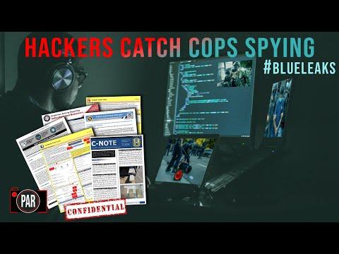 Mainstream media misses damning evidence in Blueleaks police data dump