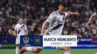 HIGHLIGHTS: LA Galaxy vs. LAFC | August 24, 2018