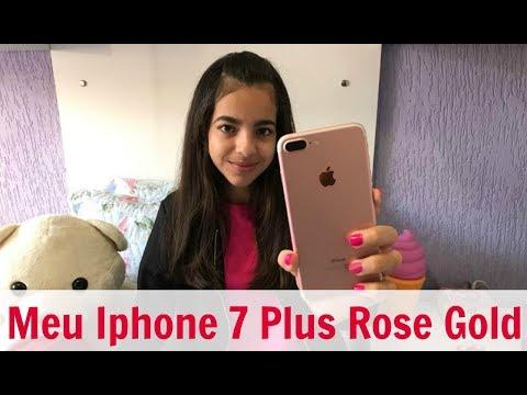 MOSTRANDO MEU CELULAR + APPS ! IPHONE 7 PLUS 128 gb
