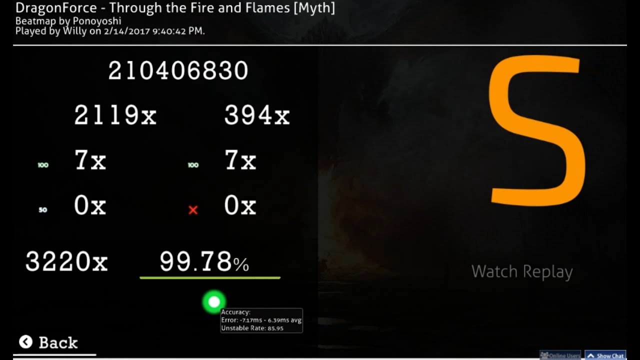 (Replay) DragonForce - Through the Fire and Flames [Myth ...Fire And Flames Dragonforce