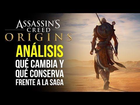 ASSASSIN'S CREED ORIGINS, ANÁLISIS - ¿Qué CAMBIA y qué CONSERVA frente a la saga?