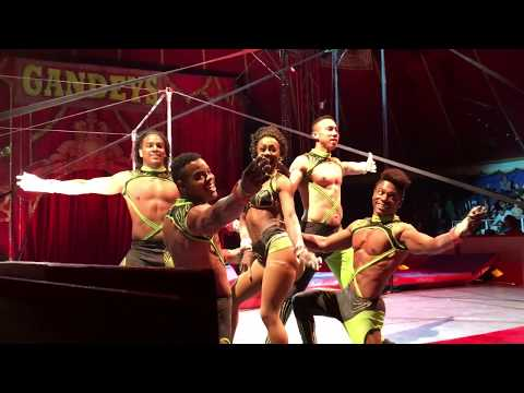 Gandeys Circus The Greatest Showmen Tour Merry Hill The Havana Troupe