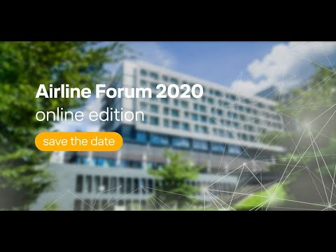 Announcing the online edition of the Airline Forum 2020 / Lufthansa Systems