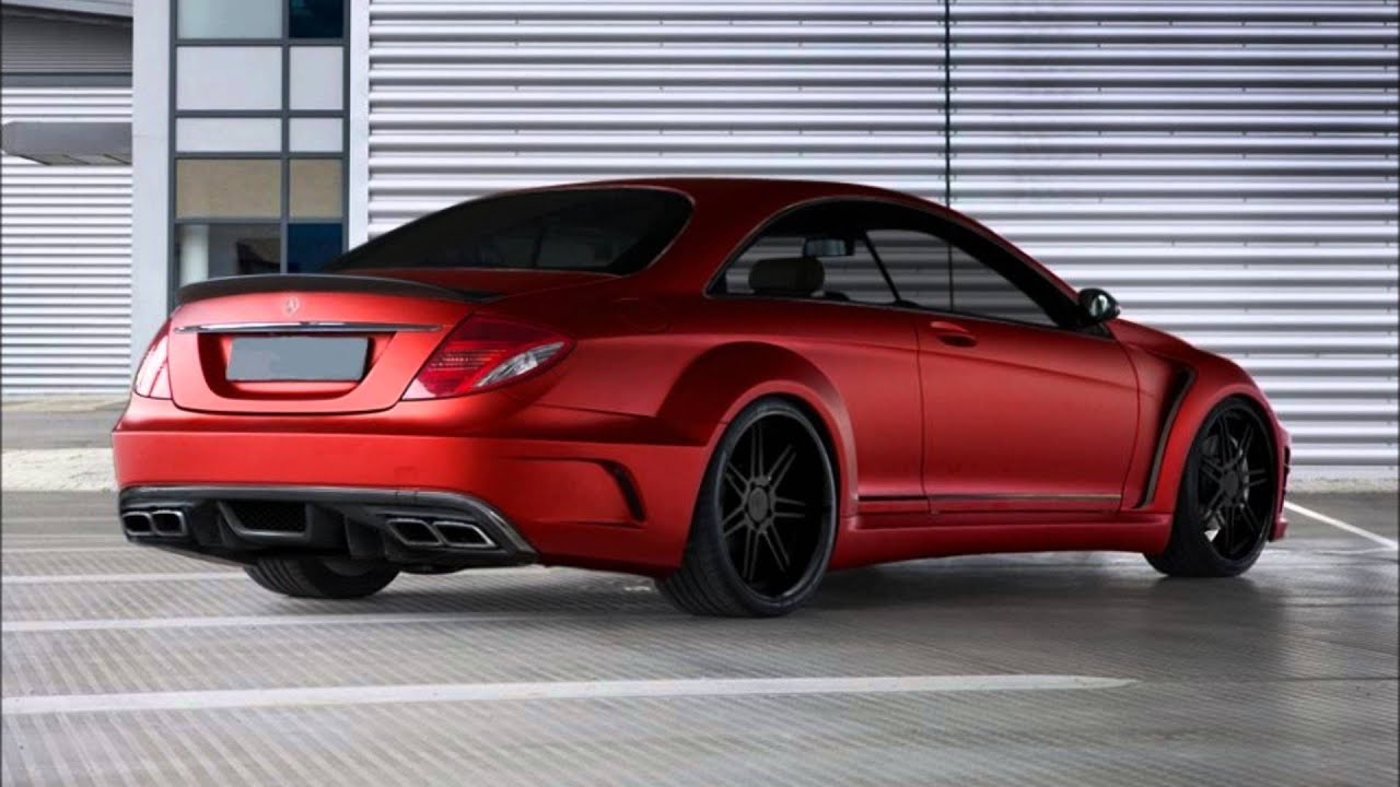 MERCEDES CL W216 AMG BLACK SERIES BODY KIT - YouTube