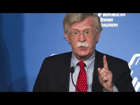 'Strong possibility of regime change' under Bolton – former US diplomat