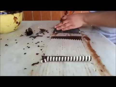 How To Make Chocolate Garnishes Decorations   YouTube
