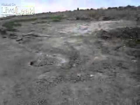 US Army soldier found an IED by metal detector in Iraq