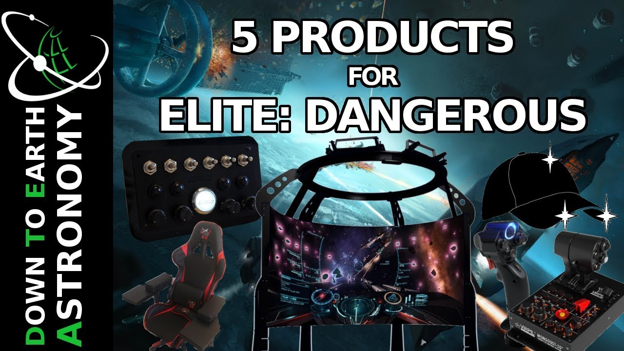 5 less known products for Elite: Dangerous - wetube24 com