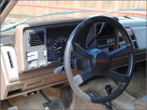 1991 chevy tahoe