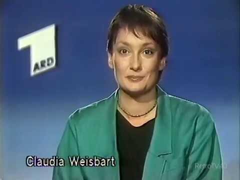 TVAnsage Claudia Weisbart ARD 31.8.1986