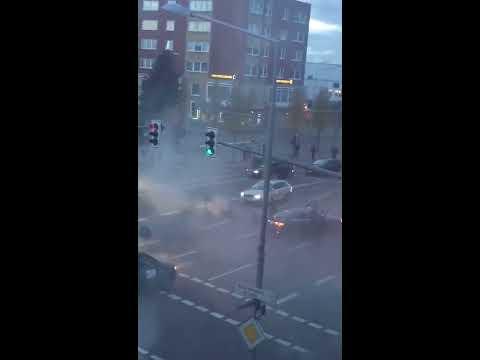 Turks Block Road in Germany, Fire Gun –Wedding Celebration
