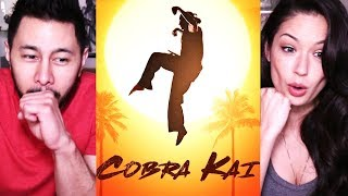 COBRA KAI | Youtube Red Originals | Trailer Reaction w/ Joli!
