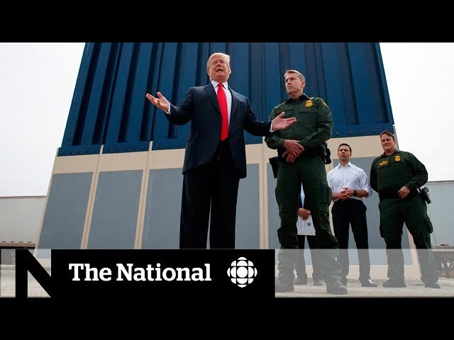Trump sends troops to Mexico border with wall stalled