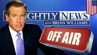 Brian Williams ConflateGate: NBC Nightly News anchor to quit lying temporarily