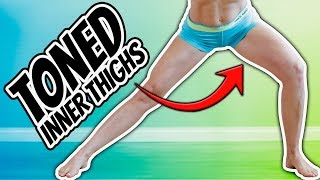6 Min Inner Thigh Home Workout [TONE YOUR INNER THIGHS]