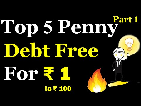Best Penny stocks 2020 | Penny stocks 2020 | Debt free penny stocks in India 2020 | Part 1 of 5