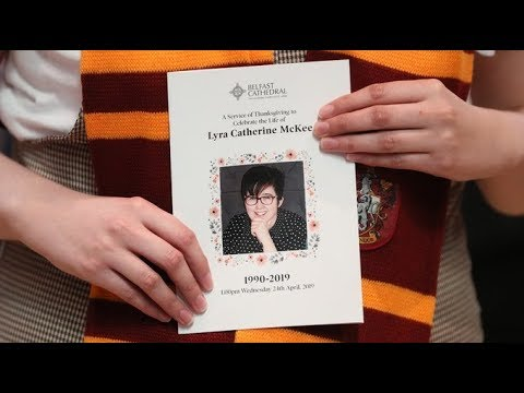 Funeral takes place for murdered journalist Lyra McKee | ITV News