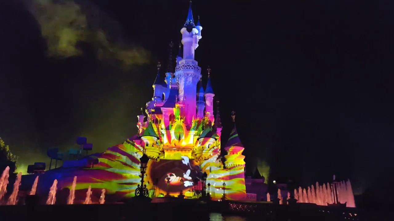 Disneyland paris 25th anniversary illuminations 2017 youtube - Illumination noel paris 2017 ...