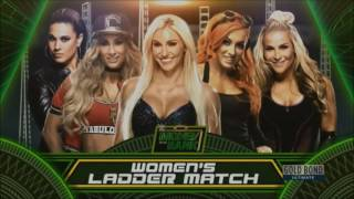 WWE Money In The Bank 2017 Match Card