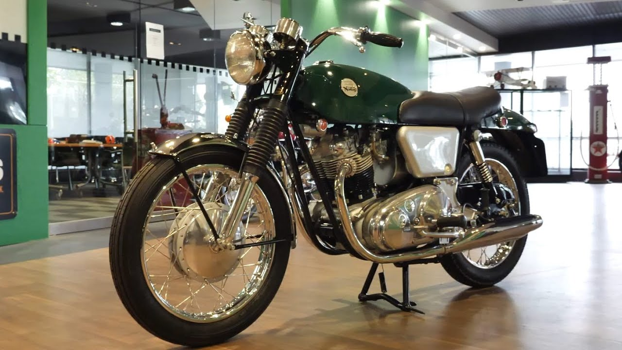 1968 Norton Commando Fastback 750cc Motorcycle - 2020 Shannons Winter Timed Online Auction