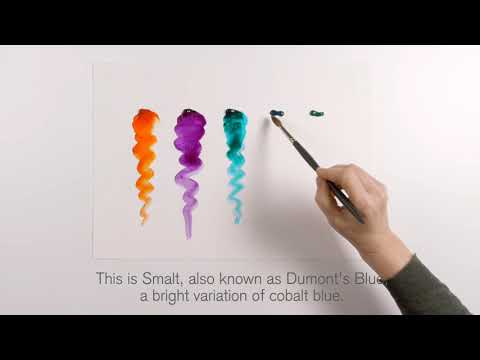 Tutorial : Professional Water Color Jewel Collection