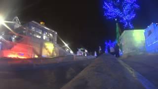 Сказочная Площадь 1905 года на Новый год в Екатеринбурге