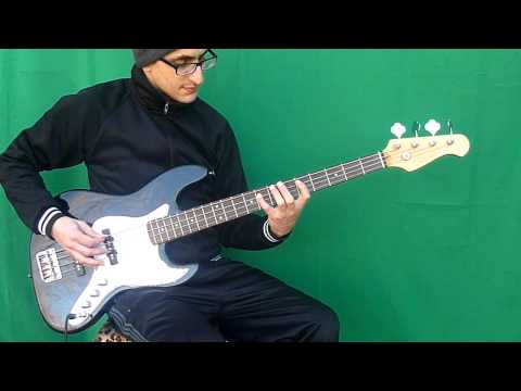 Dawn Patrol - Megadeth [Bass Cover with lyrics]