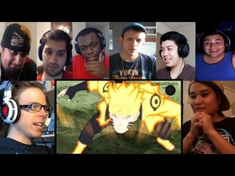 Naruto Shippuden 476-477 - Naruto Vs. Sasuke Reactions Mashup