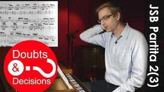 Video To Overdot or Not? :: J.S.Bach Partita 2, Sinfonia :: Doubts & Decisions (3) download MP3, 3GP, MP4, WEBM, AVI, FLV Januari 2018