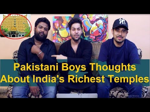 Pakistani Reacts to India's 10 richest temples | Top 10 Richest Temples in India | incredible india thumbnail