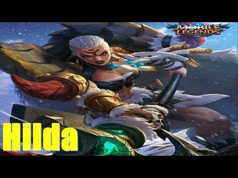 Hilda - Cự thạch chi lực - Nữ tướng cao to lực lưỡng chuẩn 6 múi - Hilda Mobile Legends: Bang bang