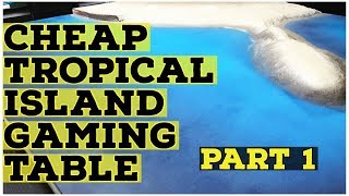 Baixar 🌴 Ultra Realistic Tropical Island Gaming Table 🌴 Painting The Ocean part 1