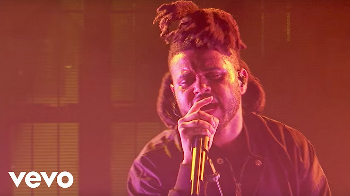 the weeknd  the hills live at apple music festival london 2015