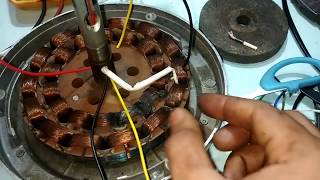 jale huye fan ko bina rewind kiye kaise banaye???? how to repair burn ceiling fan without rewinding?