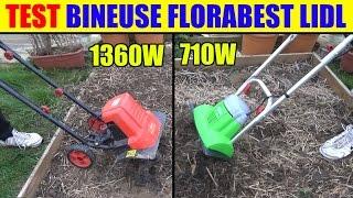 florabest bineuse electrique lidl test 710w et motobineuse 1360w garden cultivator gartenkultivator