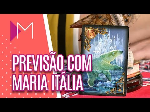 Previsões com maria Itália - Mulheres (12/07/2018)