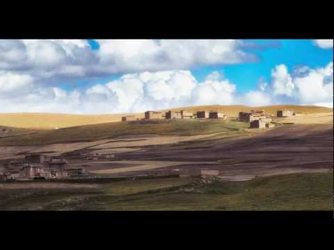 Cycling along the remote Tibetan Plateau