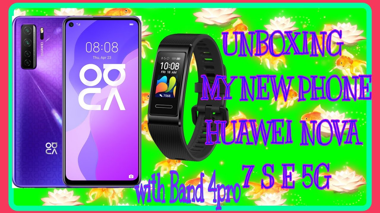 UNBOXING MY NEW MOBILE PHONE HUAWEI NOVA 7SE 5G/MARGIE CAÑETE #HUAWEIMOBILE #UNBOXIN