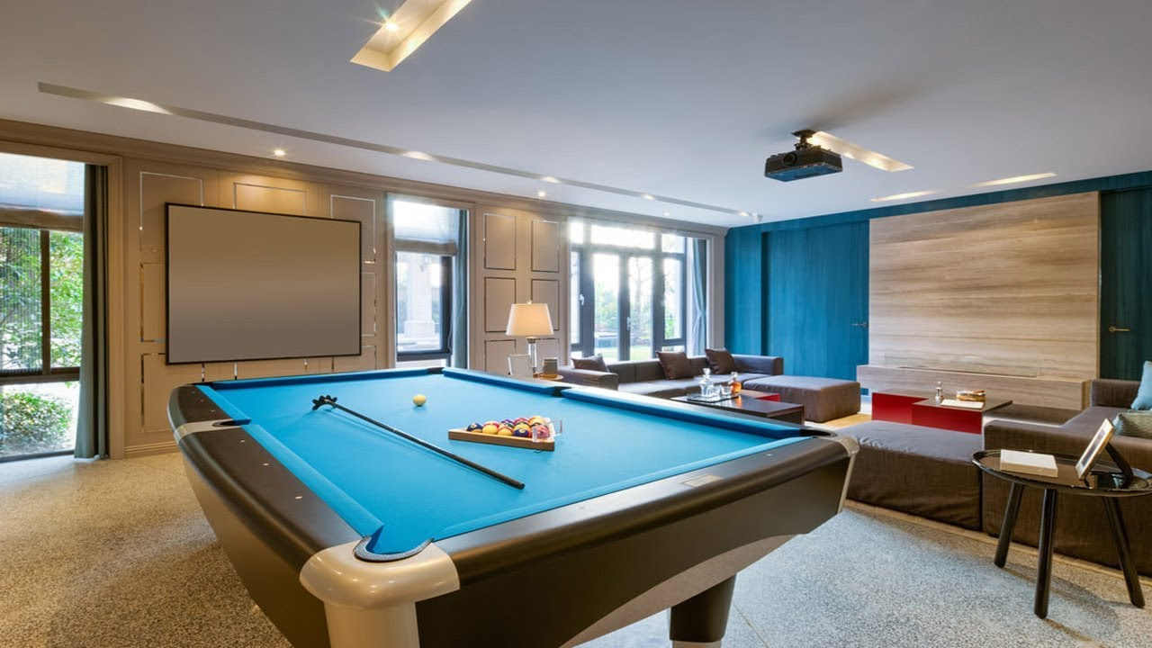 Game Room Ideas 50 Fun Game Entertainment Room Design Youtube