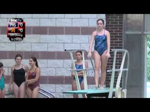LMC Varsity Sports - Girls Swimming - Pelham at Mamaroneck - 9/29/15
