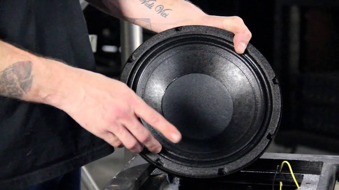 EAW KF850 Cabinet Maintenance  YouTube
