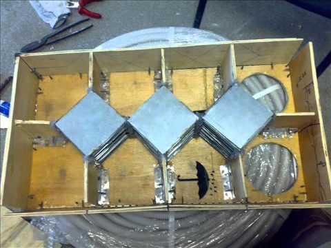 видео: рекуператор  теплообменник  вентиляция своими руками