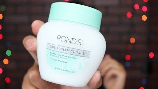 Is it Worth trying? |Ponds Cold Cream Cleanser|Makeup Remover