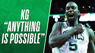 """Kevin Garnett - """"Anything is Possible"""""""