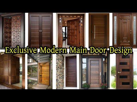 Exclusive Modern Main Door Design Wooden Door Design Malaysian Wood Door New 2020 Youtube